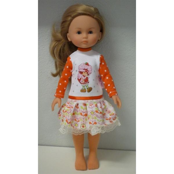 Oranje jurk + maillot