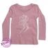 Roze shirtje met elfje maat 98/104