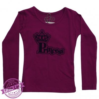 Shirtje maat 86/92 met opdruk prinses