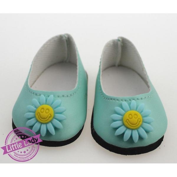 Schoentjes met bloem