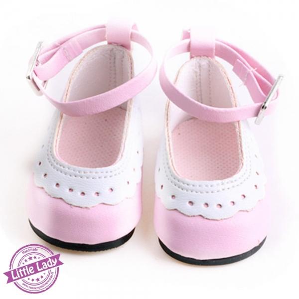 Roze schoenen met bandje