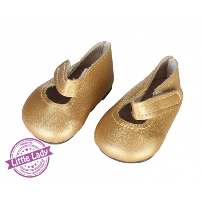 Gouden lak schoenen