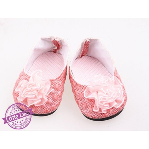 Oud roze ballerina`s