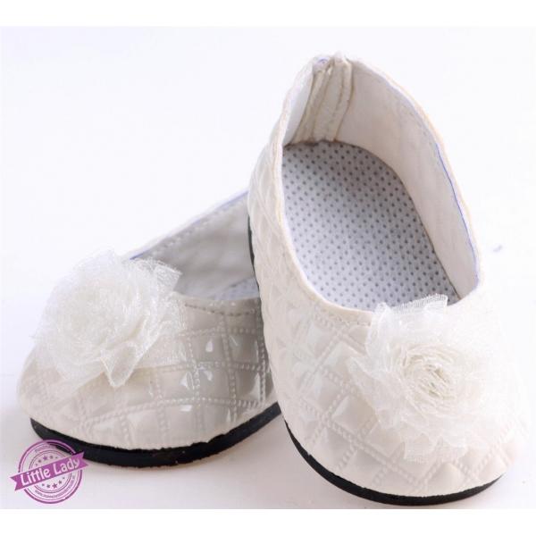 Witte ballerina`s