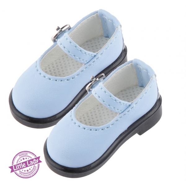 Blauwe schoentjes