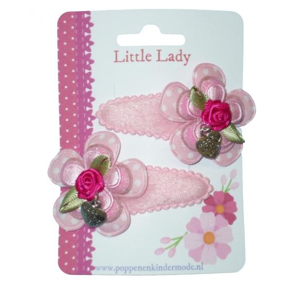 Knipjes roze fuchsia bedel